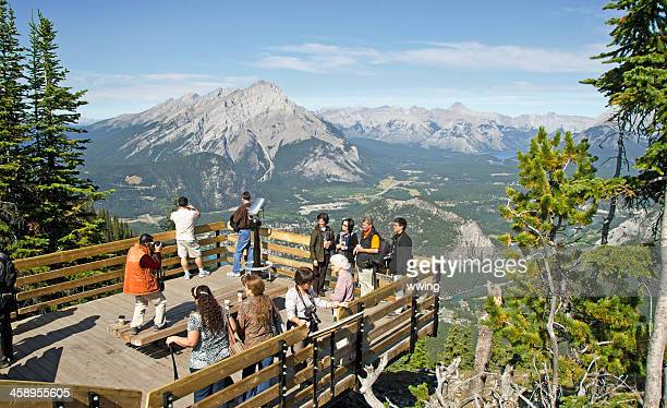 Sulphur Mountain Gondola Lookout Walkway Resy Area