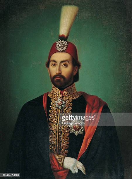 Sultan Abdülmecid I Mid of the 19th cen Found in the collection of the Pera Museum Istanbul