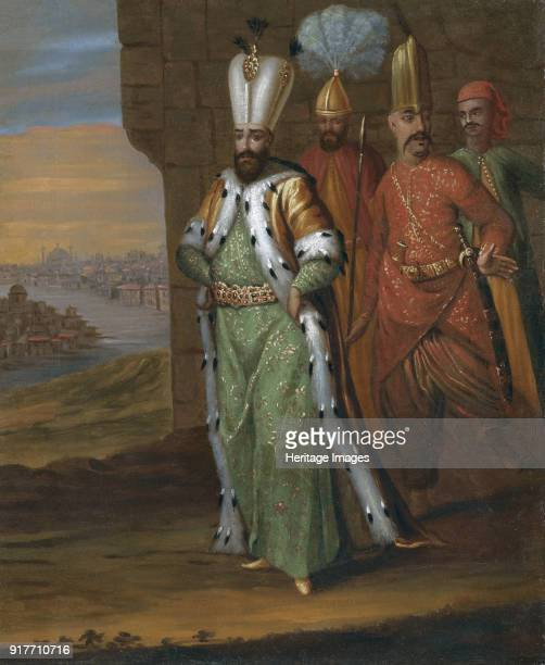 Sultan Ahmed III and his Retinue Private Collection