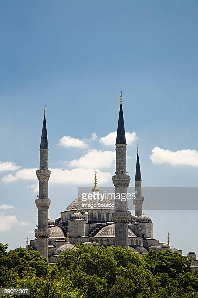 sultan ahmed mosque in istanbul - blue mosque stock pictures, royalty-free photos & images