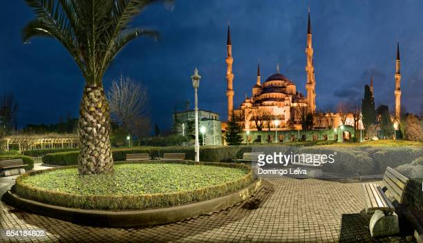 sultan ahmed mosque, islanbul, turkey - espiritualidad stock pictures, royalty-free photos & images