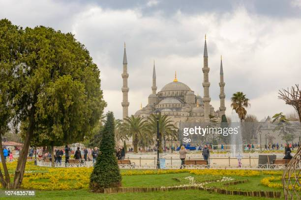 Sultan Ahmed Mosque or Blue Mosque or Sultan Ahmet Camii in Turkish