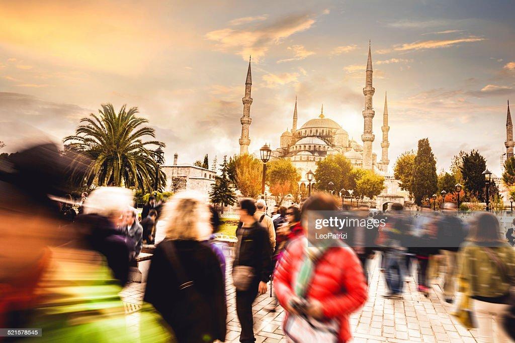 Sultan Ahmet Camii - Blue Mosque in Istanbul : Stock Photo
