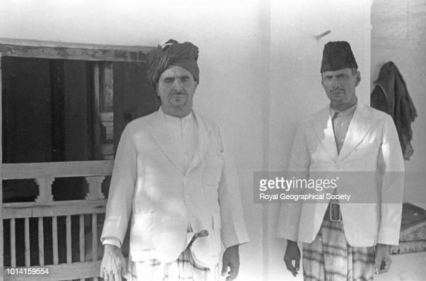 Sultan Ali and S Abu Bakr Hadhramaut Yemen 1936