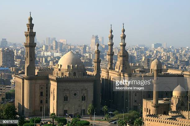 Sultan Hassan Mosque in Cairo, Egypt