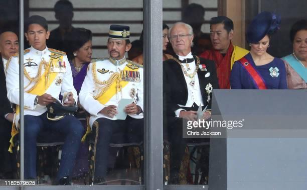 Sultan of Brunei Hassanal Bolkiah King Carl XVI Gustaf of Sweden King of Bhutan Jigme Khesar Namgyel Wangchuck Crown Princess Victoria of Sweden and...