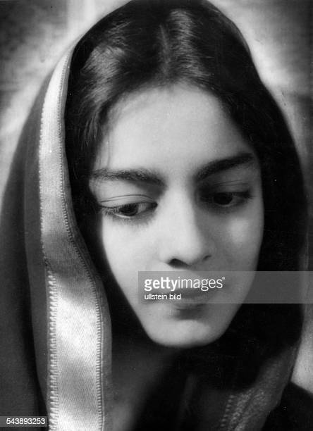 Sultan Princess Sajida Begum of Bhopal India* Portraet Photographer Rosemarie Clausen 1936Vintage property of ullstein bild