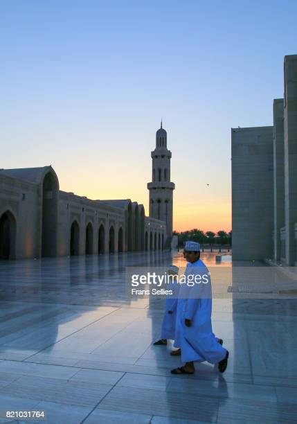 sultan qaboos grand mosque, muscat, oman - frans sellies stock pictures, royalty-free photos & images