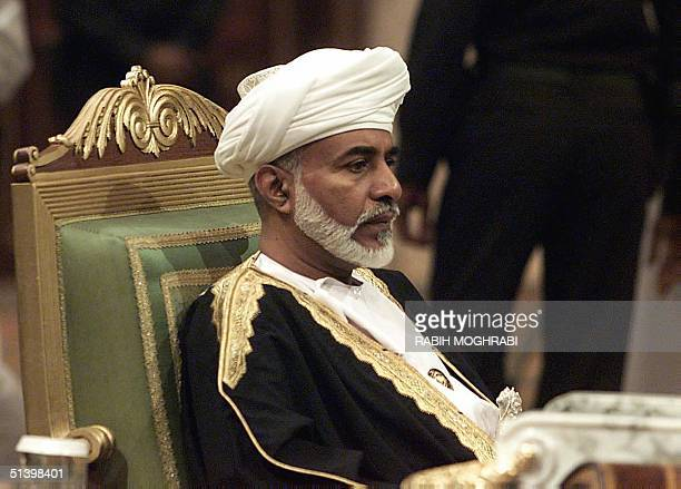 Sultan Qaboos of Oman attends a threeday summit of the six oilrich Gulf Cooperation Council states The Gulf Arab leaders have for the first time put...