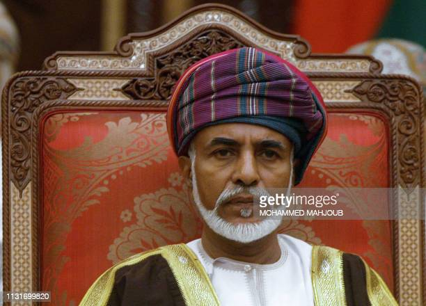 Sultan Qaboos of Oman chairs the final session of the Gulf Cooperation Council leaders' summit on December 30, 2008 in Muscat. Oil-rich Gulf...