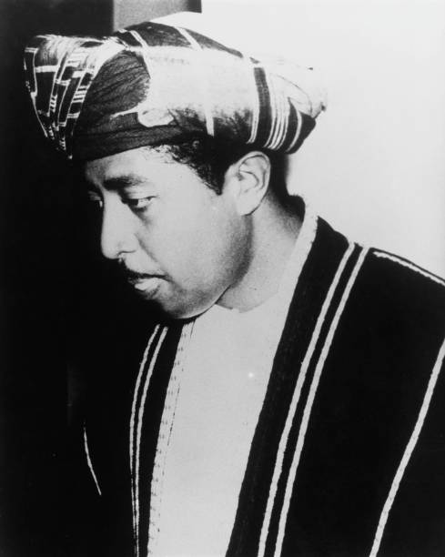 Sultan Sayyid Jamshid bin Abdullah Al Said of Zanzibar circa 1963 He went into exile in the United Kingdom after Zanzibar was granted independence