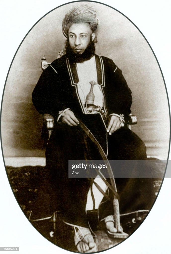 sultan Seyyid Hamed bin Thuwain in Zanzibar (reign in 1893-1896), Tanzania : Photo d'actualité