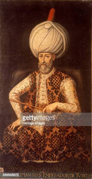 Sultan Suleiman I the Magnificent, 17th century. Found in the collection of Palacio del Senado de España, Madrid. Artist : Anonymous.