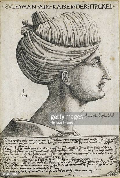 Sultan Suleiman I the Magnificent ca 1530 From a private collection