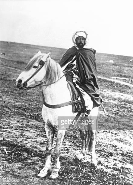 Sultan von Marokkozu Pferde- 1908