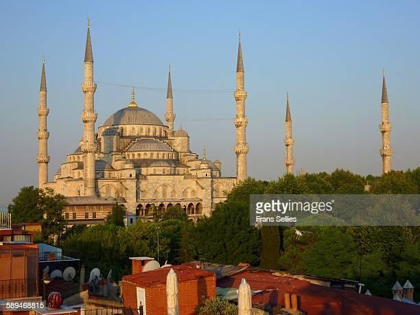 sultanahmet mosque, istanbul - frans sellies stockfoto's en -beelden