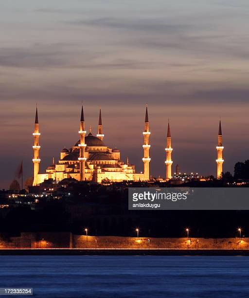 sultanahmet mosque - blue mosque stock pictures, royalty-free photos & images