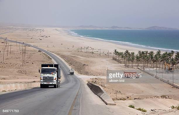 Sultanat Oman Sandstrand bei Mirbit