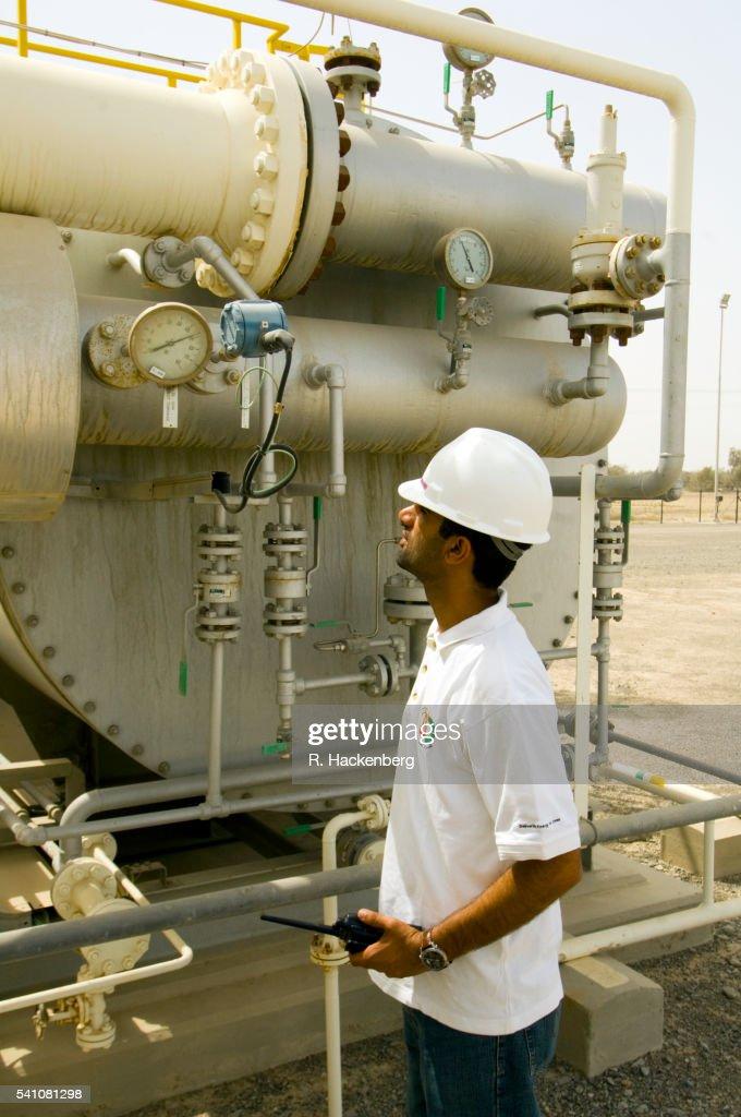 Sultanate Of Oman Oman Gas Company In Port Of Sohar Stock