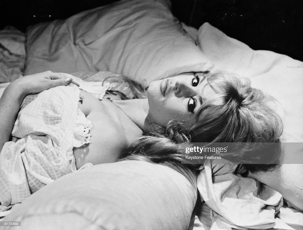 Bardot In Bed : News Photo