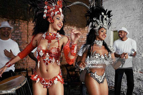 Sultry samba queens