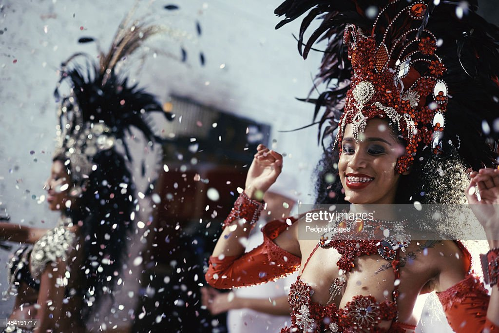 Sultry samba queens : Stock Photo