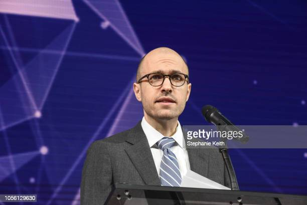 G Sulzberger Publisher The New York Times speaks at the New York Times DealBook conference on November 1 2018 in New York City