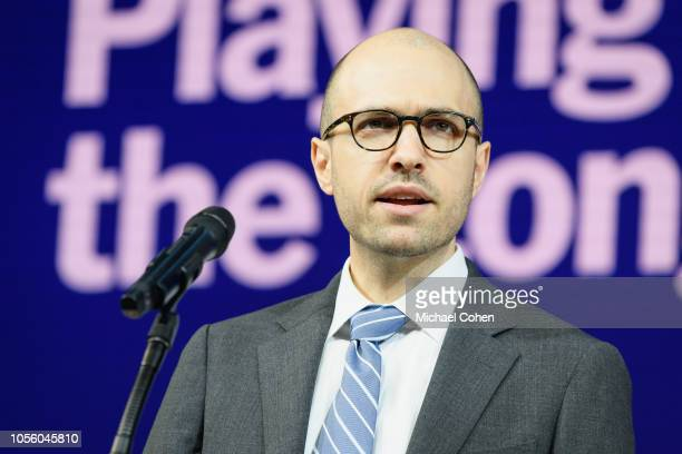 G Sulzberger Publisher The New York Times speaks onstage during the 2018 New York Times Dealbook on November 1 2018 in New York City