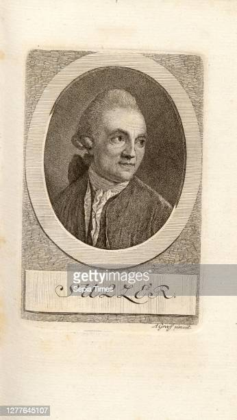Sulzer, Portrait of Johann Georg Sulzer, signed: A. Graff pinxit, pl. P. 74, Graff, Anton ; Pfenninger, Heinrich , Leonhard Meister; Heinrich...