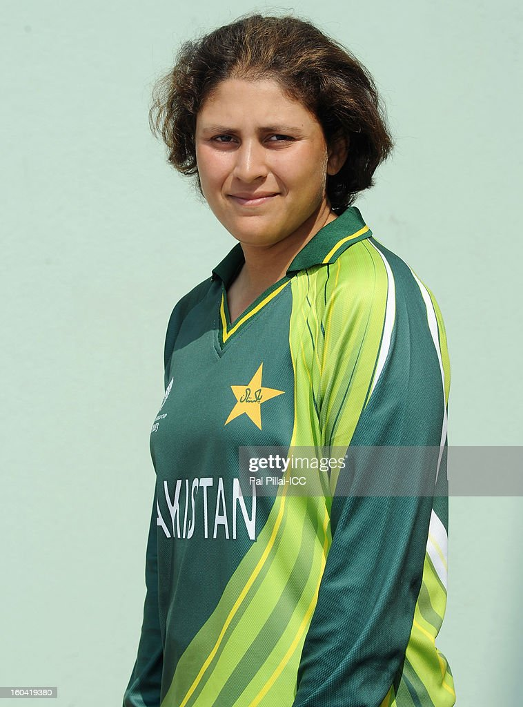 Sumaiya Siddiqui of Pakistan attends a portrait session ahead of the ICC Womens World Cup 2013 at the Barabati stadium on January 31, 2013 in Cuttack, India.