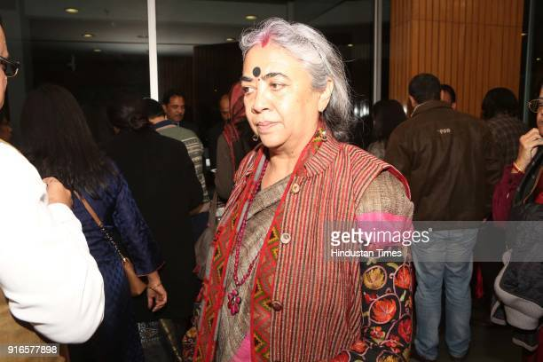 Suman Sharma during a launch of scholar Kavita A Sharma's book 'Life is As is Teachings from the Mahabharata' coauthored by Indu Ramchandani at India...