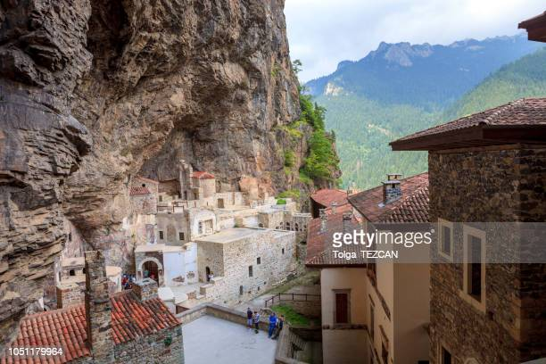 sumela monastery - monastery stock pictures, royalty-free photos & images