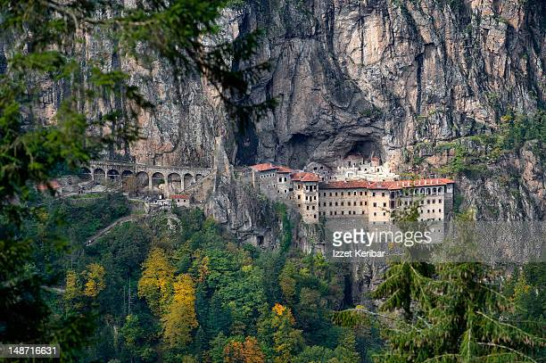 sumela monastery. - monastery stock pictures, royalty-free photos & images