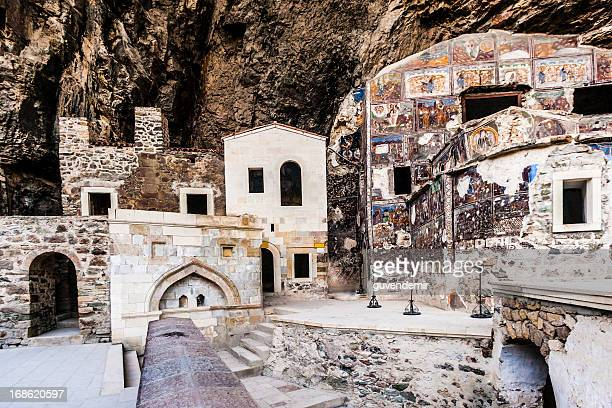 sumela monastery - trabzon stock pictures, royalty-free photos & images