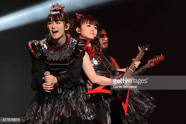 Sumetal and Moametal of Babymetal perform during the Alternative Press Music Awards 2016 at Jerome Schottenstein Center on July 18 2016 in Columbus...