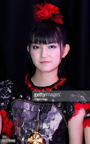 Sumetal of Babymetal attends the Metal Hammer Golden Gods awards on June 15 2015 in London England
