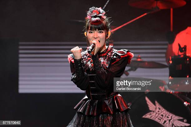 Sumetal of Babymetal performs during the Alternative Press Music Awards 2016 at Jerome Schottenstein Center on July 18 2016 in Columbus Ohio