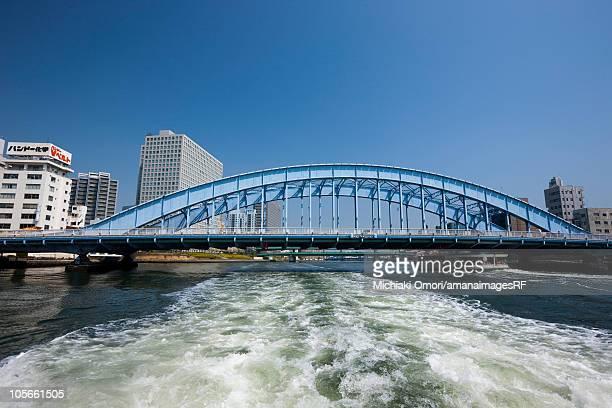 Sumida river and Eidai-bashi