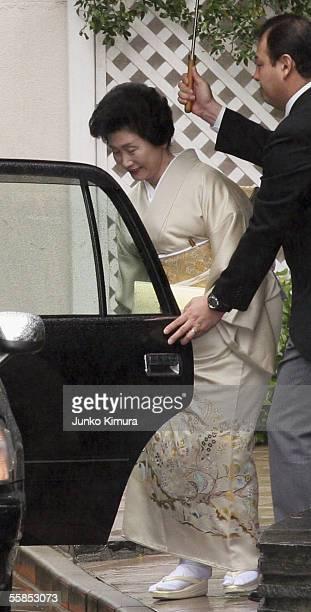 Sumiko Kuroda mother of Yoshiki Kuroda the Tokyo metropolitan government official who will marry Princess Sayako the daughter of Emperor Akihito...