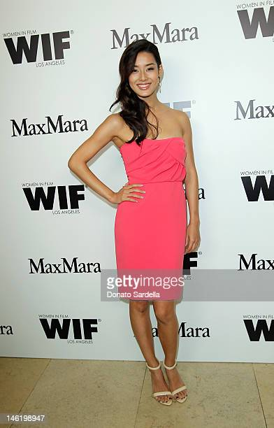 Sumire Matsubara arrive at Max Mara Cocktail Party Honoring The 2012 Women In Film Face Of The Future Chloe Moretz at Sunset Tower on June 11 2012 in...