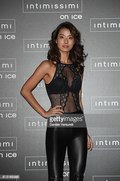 Sumire Matsubara attends Intimissimi On Ice at Arena on October 7 2016 in Verona Italy