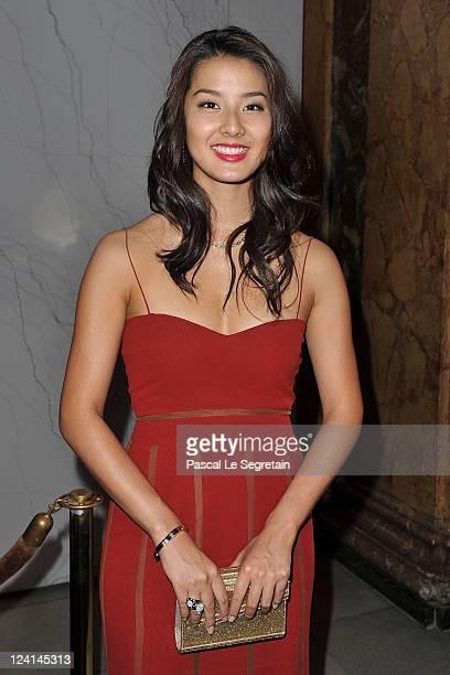 Sumire Matsubara attends the Montblanc 'Collection Princesse Grace de Monaco' World Premiere presentation under the High Patronage of HSH Prince...