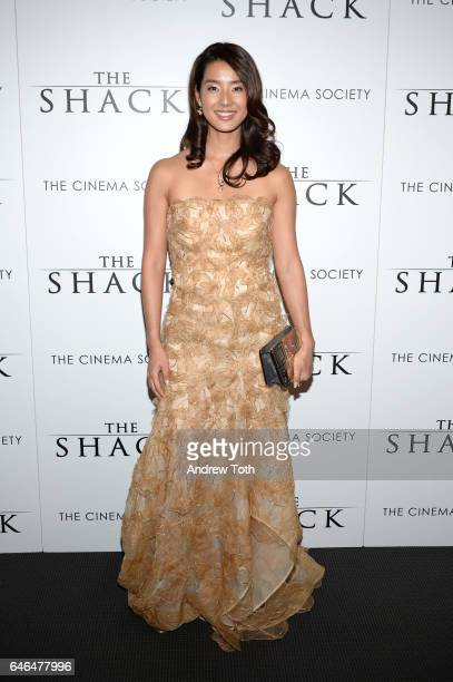 Sumire Matsubara attends the world premiere of 'The Shack' hosted by Lionsgate at Museum of Modern Art on February 28 2017 in New York City