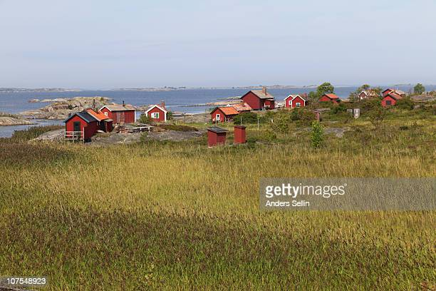 Summar cottages in the archipelago of Stockholm