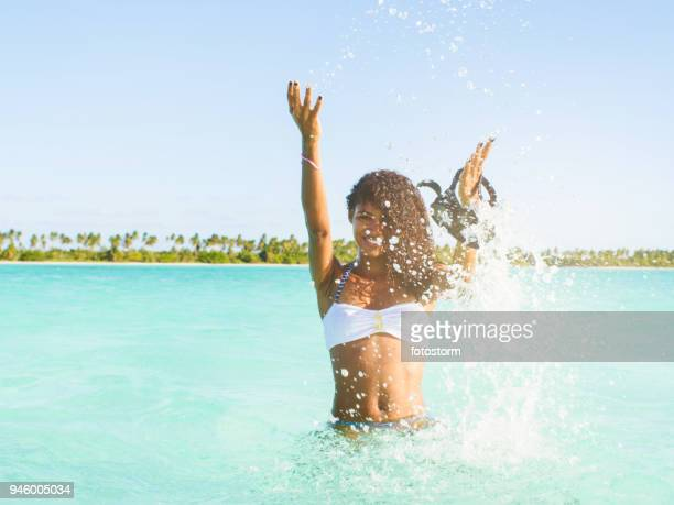 summer activities - caribbean stock pictures, royalty-free photos & images