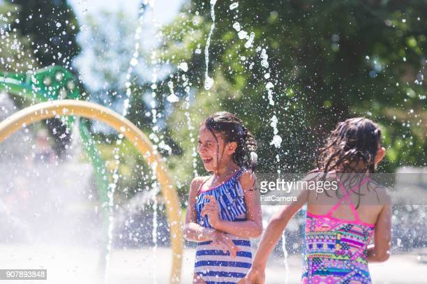 A Summer Afternoon at the Splash Pad