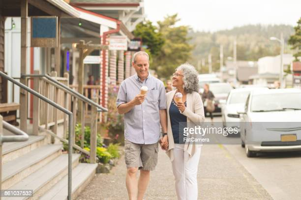 a summer afternoon together... - oregon coast stock pictures, royalty-free photos & images