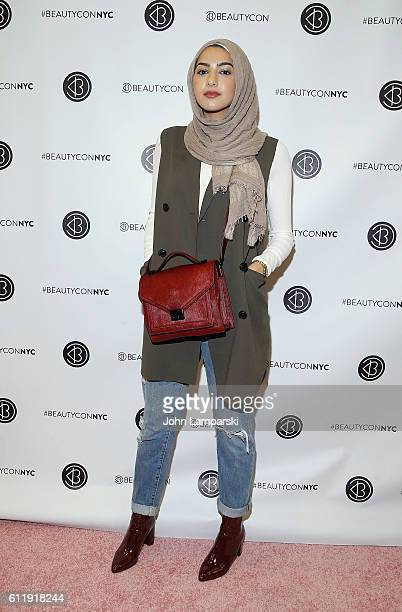 Summer Albarcha attends 2016 Beautycon Festival NYC at Pier 36 on October 1, 2016 in New York City.