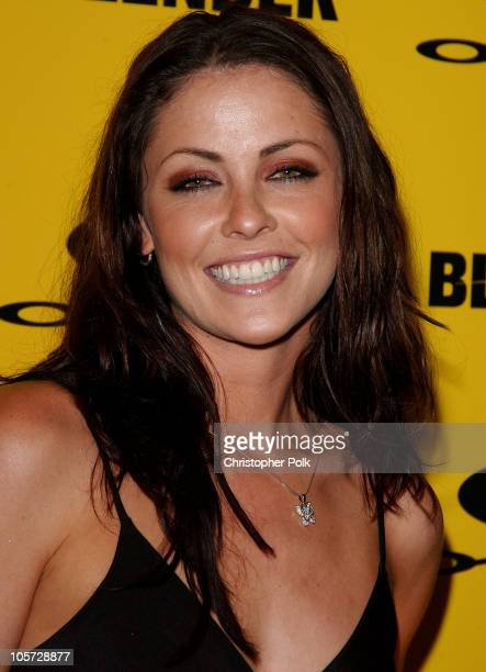 Summer Altice during Blender/Oakley X Games Party - Arrivals at The Key Club in Los Angeles, California, United States.