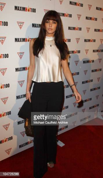 Summer Altice during Maxim Hot 100 Party Arrivals at Yamashiro in Hollywood California United States